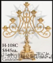 Seven Light Candelabra