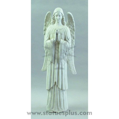 Angel of prayer statue