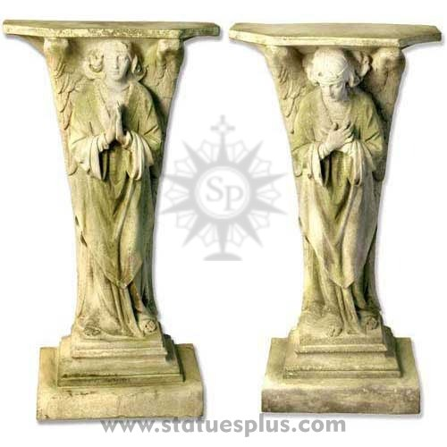 Devotional Angel statue set