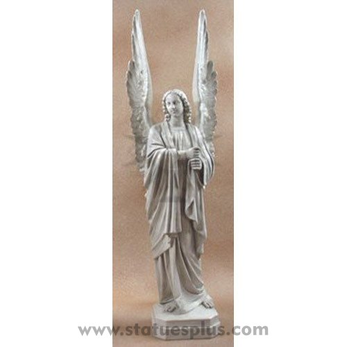 Huge cathedral Angel statue
