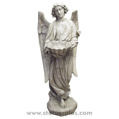 Angel's gifts statue