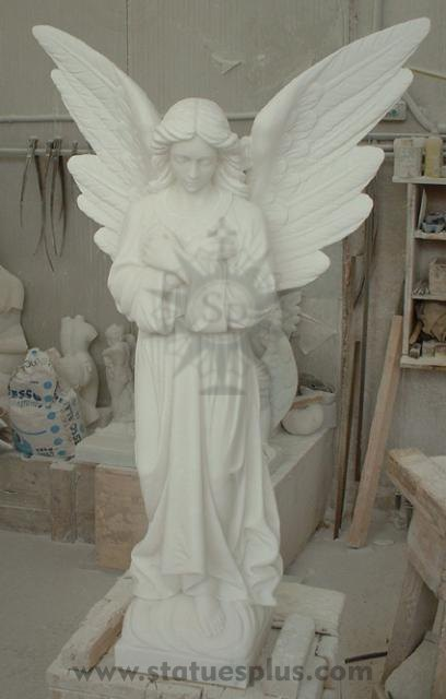 Marble Angel Statue - new