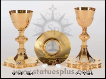 New St. Michael and St. Mark Chalices