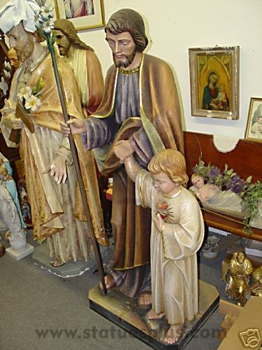 St. Joseph with Jesus, Demetz