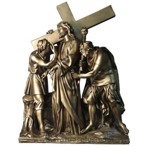 Station – Jesus Given The Cross