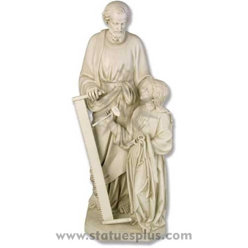St. Joseph with Jesus statue