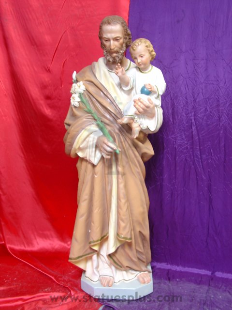 St. Joseph with Christ Child