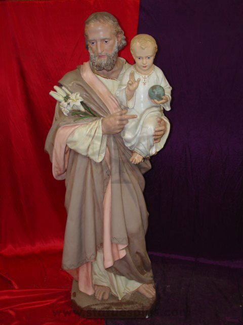 St. Joseph with Baby Jesus