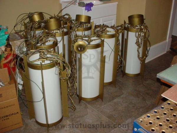 LARGE SET OF CHURCH LIGHTS