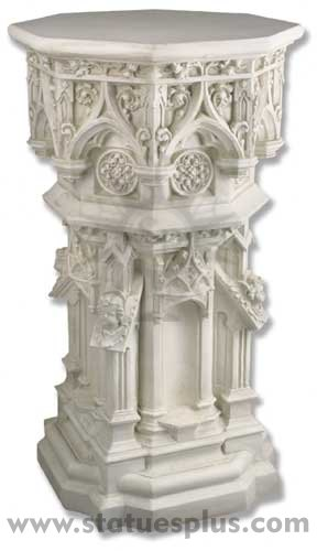 Cathedral Pedestal