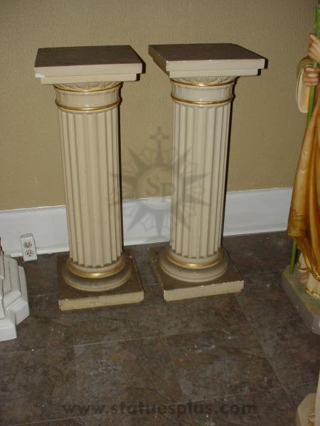 SET OF 2 Pedestals