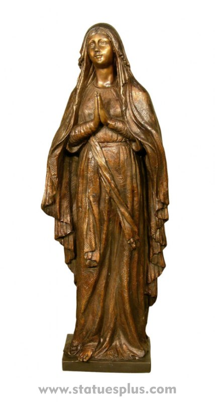 Our Lady of Lourdes – Bronze