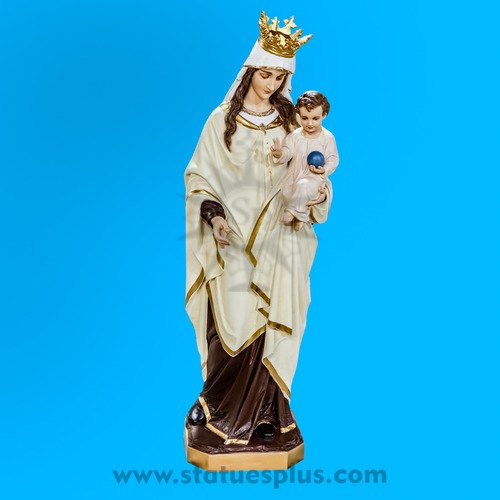 Blessed Virgin Mary and child statue